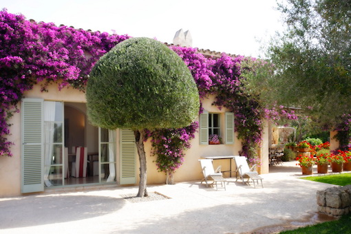 Attractive country house with beautifully landscaped garden and pool near Cas Concos