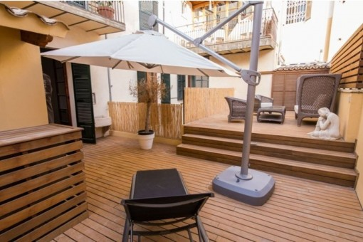 Breathtaking apartment in an exclusive location with terrace in the middle of Palma's old town