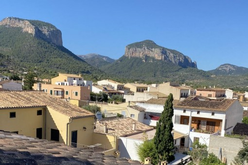 Terraced house in Alaró with breathtaking views