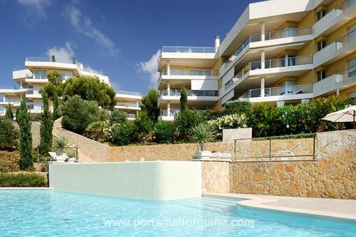Luxury ground floor apartment in Sol de Mallorca