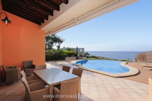 Mediterranean style villa with sea access in Santa Ponsa