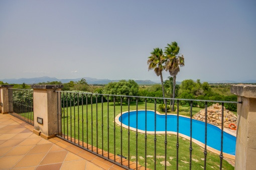 Newly built Mediterranean style country house with swimming pool in the north of Mallorca