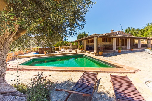 Wonderful charming country home in Selva with beautiful views