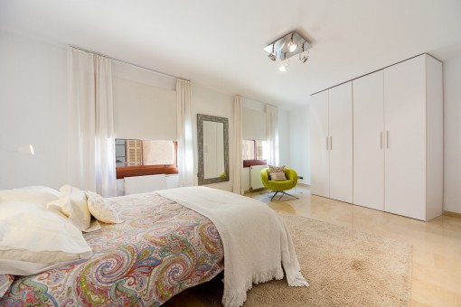 Very spacious and beautiful master bedroom