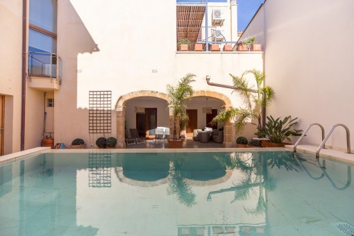 Exclusive property with pool