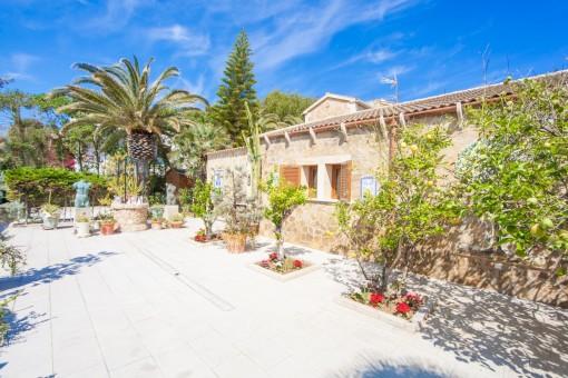 Impressive villa