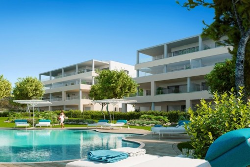 Newly-constructed ground floor apartment in an outstanding location in Santa Ponsa