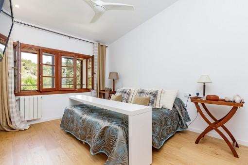 Very cosy double bedroom