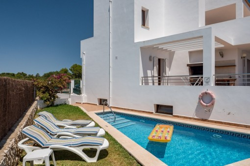 Beautiful semi-detached house in a desirable area in Cala D'Or