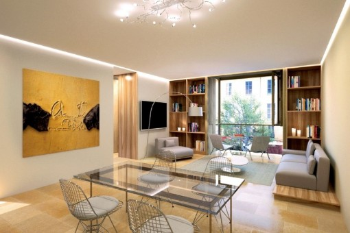 High-quality apartment in the centre of Palma