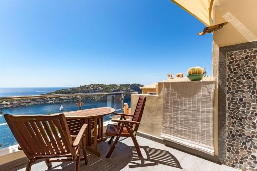 Great sunny terrace