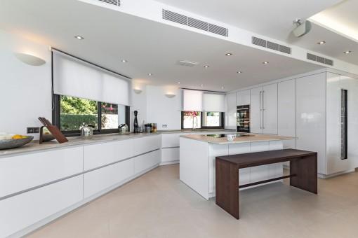 Modern designer-kitchen
