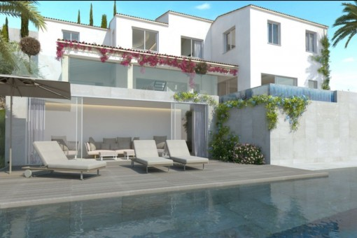Fantastic terrace with lounge area