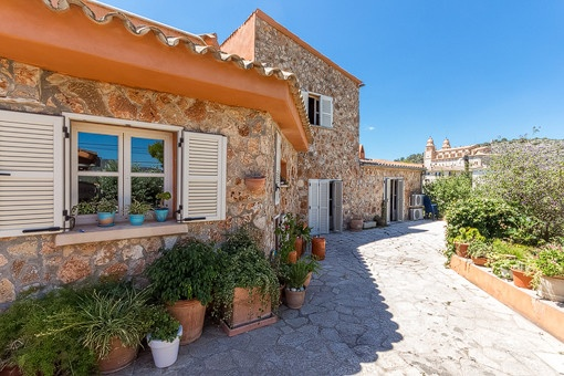 Pretty terraced house with unobstructed views in a quiet area of Calvia