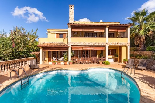 Villa in one of the best residential areas of Santa Ponsa and absolute tranquility