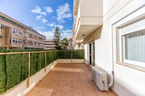 3-bedroom apartment with small garden in a lovely location
