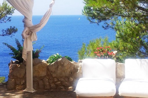 Wonderful holiday apartment on the first sea line in Santa Ponsa