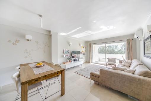 Beautiful, spacious apartment in Cala Major