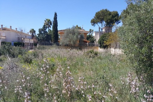 Exclusive building plot for a villa in Sa Rapita with sea views