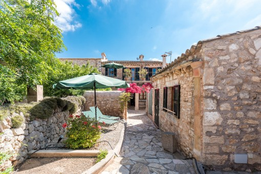Exclusive town house in the heart of Santanyi with holiday renting licence