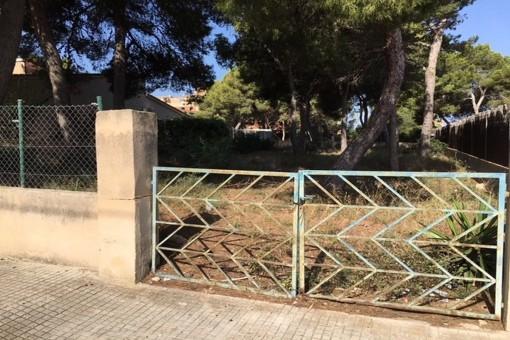 Plot in a quiet location in El Toro