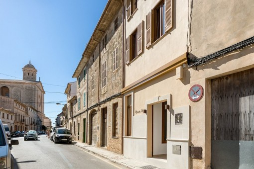 First-occupation, newly-restored traditional town house in Llucmajor