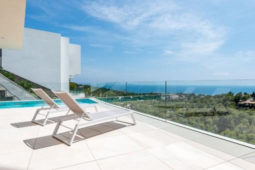 A modern designer villa of the highest quality-a true dream property in Costa d'en Blanes