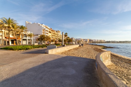 Apartment with side sea views on the Playa de Palma