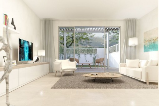 New, exclusive townhouse near the promenade in Port d'Andratx
