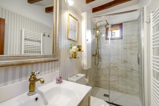 High quality bathroom with heating