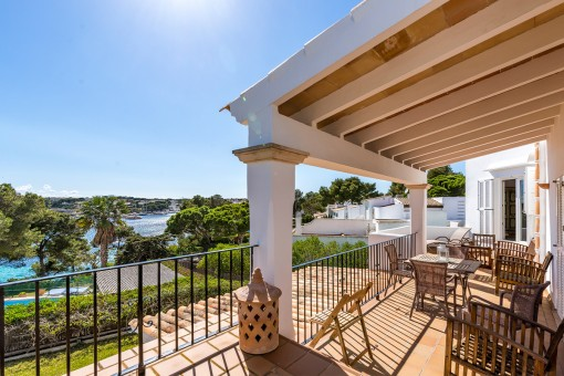 Fantastic frontline penthouse in Porto Petro with spectacular views and direct sea access