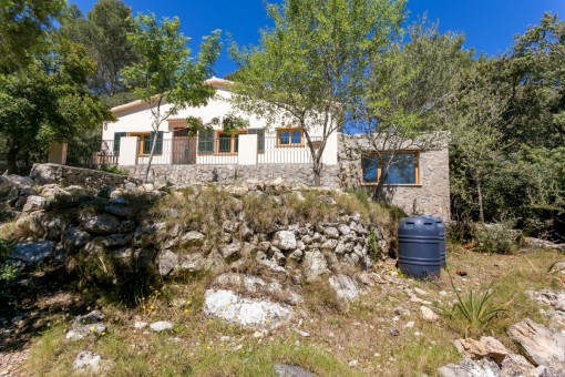 Idyllic finca surrounded by nature in Puigpunyent