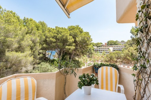 Sea-view apartment on the bay of Cala Vinyas