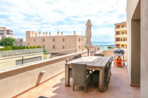 Modern apartment with harbour views in a prime location in Palma