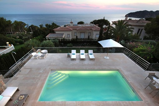 Beautiful villa with sea views in Santa Ponsa