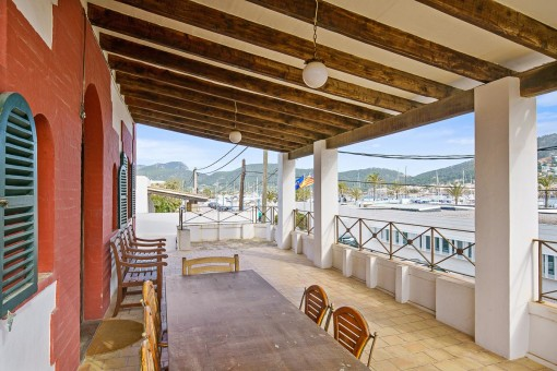 Charming Mallorcan villa with harbour views in Puerto Andratx