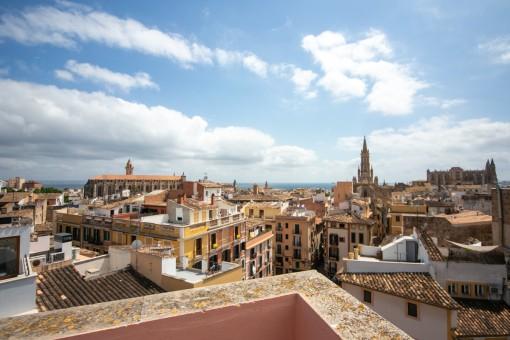 Commerciëel in Palma de Mallorca Old Town
