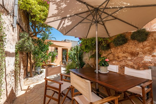 Guaranteed feeling of well-being in a townhouse in the heart of Santanyí