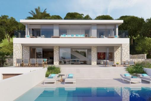 Villa in Costa den Blanes